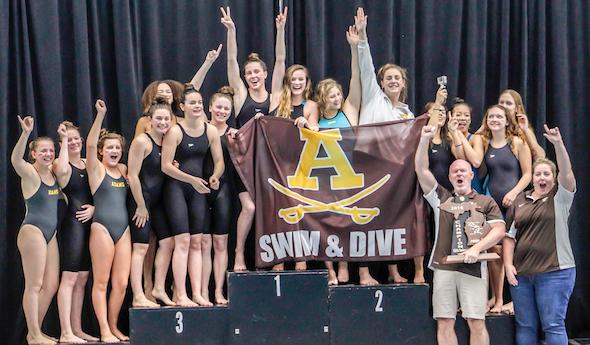 Girls Swim Wins State Title!
