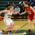 Girls Hoops Advances in District Play