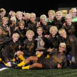 Soccer Wins 11th District Title in School History