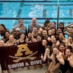 6-Peat League Title for Girls Swim/Dive