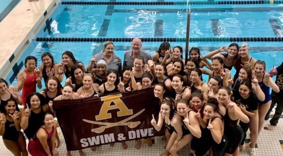 Girls Swim/Dive – 6th Straight League Crown and 6th at State Finals