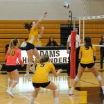 Adams Varsity Volleyball beats Avondale 2 – 1