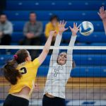 Adams Varsity Volleyball falls to Stoney Creek 2 – 3