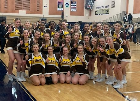 Competitive Cheer Finishes First at OAA Meet #1