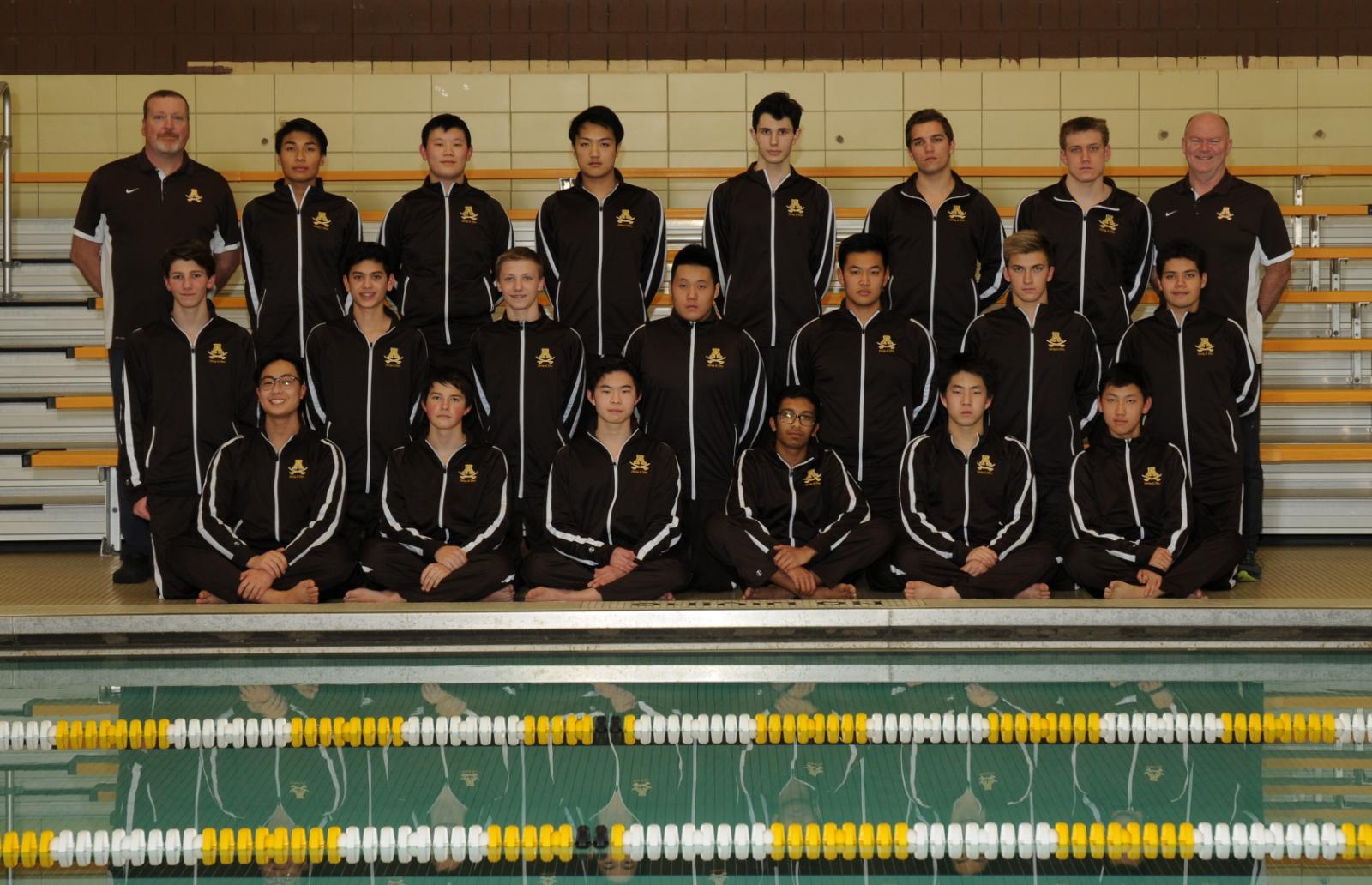 Boys Swim/Dive Wins OAA White