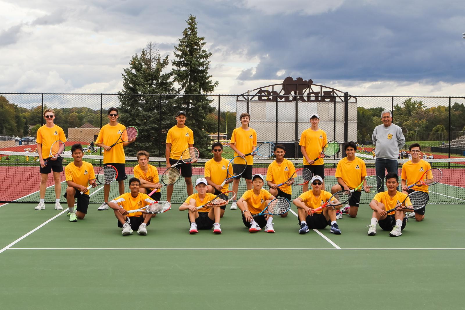 Tennis Wins OAA White Title