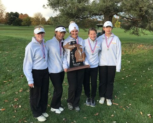 Girls Golf Finishes as State Runner-Up