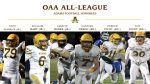 Adams High School Football All OAA Honors