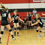 Junior High Volleyball Battles Madison-Grant