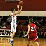 Jr Hi Boys Split Home Openers with RJ Baskett
