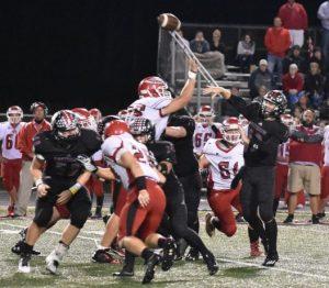 Varsity Football vs Frankton (pictures)