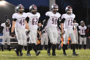 Football Sectional Game 3 vs Elwood Pictures