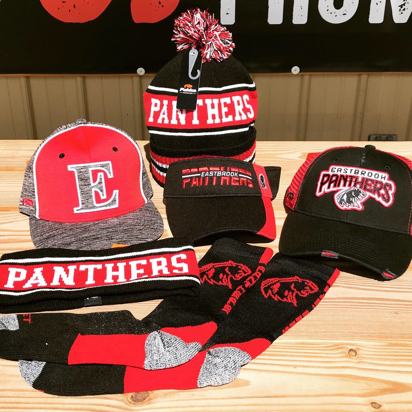 Stay Warm & Represent the Panthers