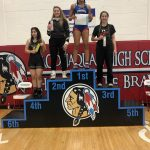 Watch Eastbrook's Abigail Turner Wrestle at Regional Live