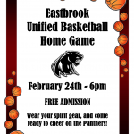 Come out and support our Unified Panther Basketball Team
