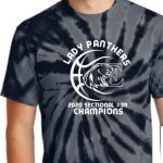 Lady Panthers Basketball Sectional Champions Shirts