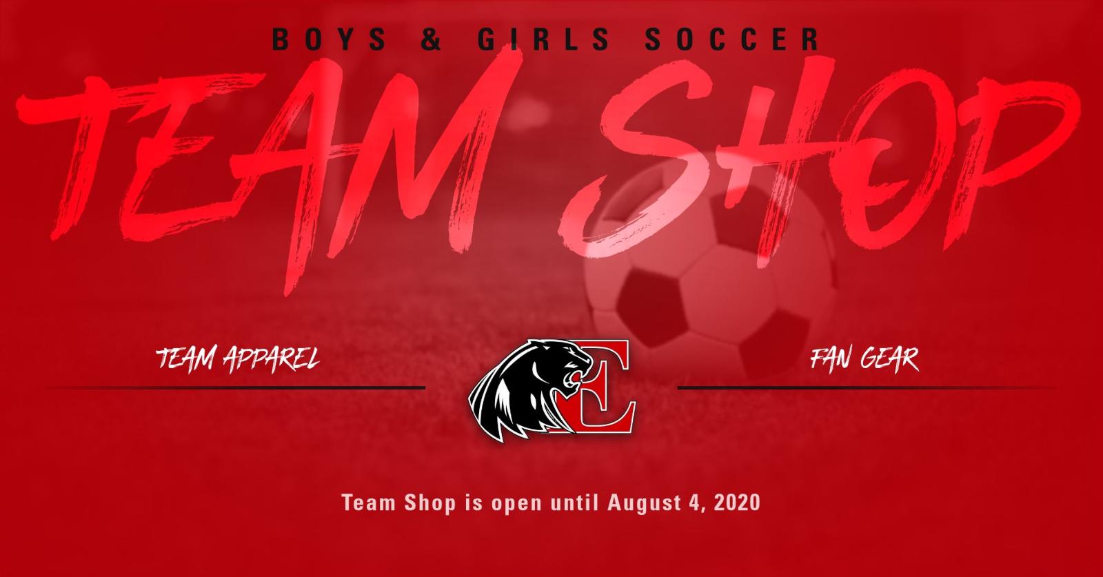 Boys & Girls Soccer Team Shop