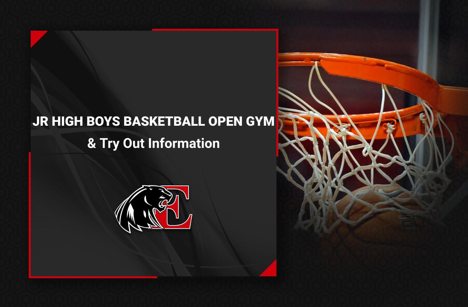 Jr High Boys Basketball Information