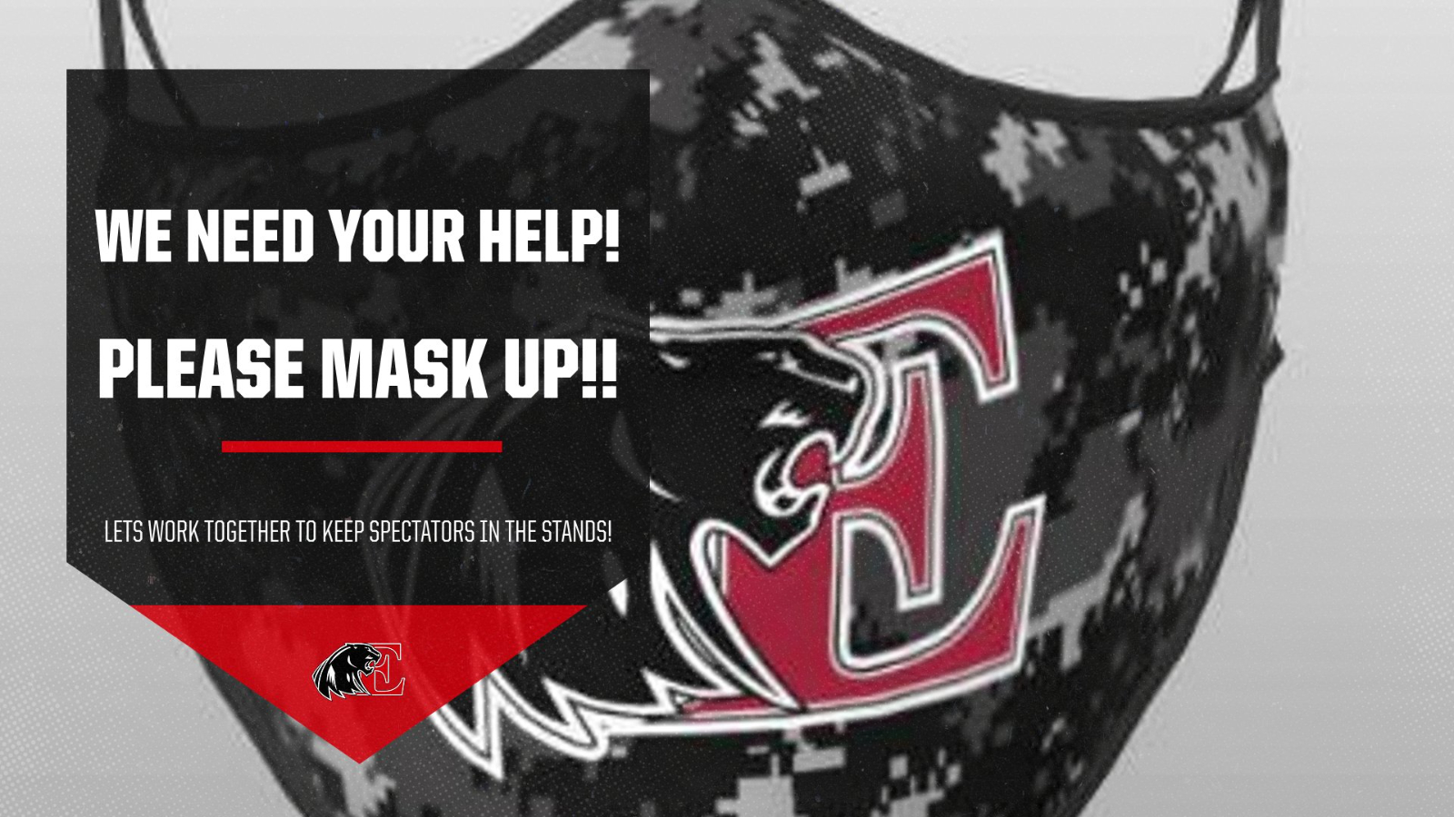 Please Mask up at all times!
