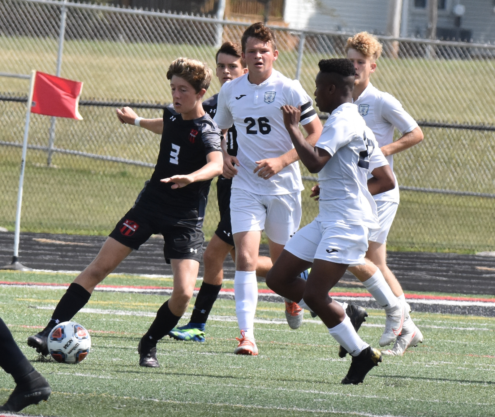 Boys Soccer vs Woodlan