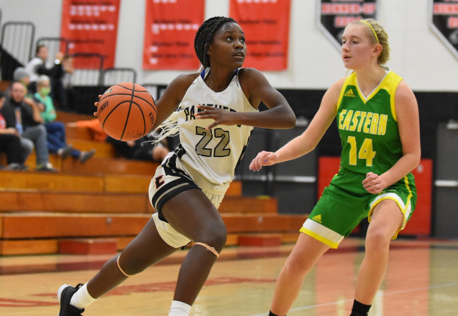 Varsity Girls Basketball vs Eastern