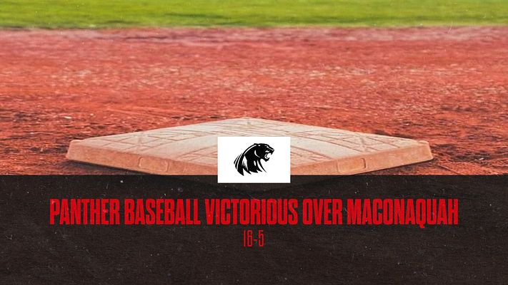 Panthers Baseball Defeats Maconaquah Braves
