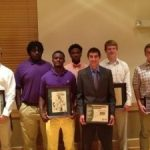 Two Saluda Football Athletes Honored