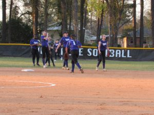 3/28/17 Saluda Varsity Softball vs Gray Collegiate