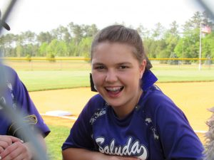 4/17/17 Saluda Varsity Softball vs Keenan