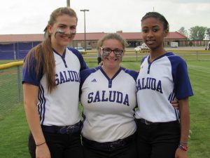 4/18/17 SENIOR NIGHT – Saluda Varsity Softball vs CA Johnson