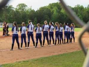 4/19/17 Saluda Varsity Softball vs Ninety Six