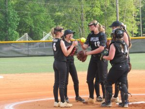 4/21/17 Saluda Varsity Softball vs Fox Creek