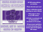 SHS Spring Sport Senior Spotlight Night