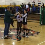 Raider Volleyball  beats Irvington Preparatory Academy to Win Sectional Championship