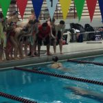 Cali Nash, Karl Klemm, and Zach Sayre Shine for Swim Team