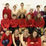 Swimming Competes at City / Bacon and Nash Finish First and Second in Diving
