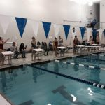 Girls' Varsity Swimming Concludes Season at Brownsburg Sectional