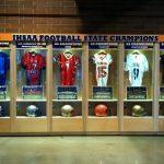 Lucas Oil Stadium Spotlights New State Champion Display Case