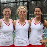 Varsity Tennis Wins Third Straight
