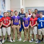 Cardinal Ritter Football Helps Out at Peyton Manning Childrens Hospital Event