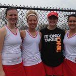 Varsity Tennis Defeats Heritage Christian