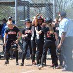 Varsity Softball Wins; Marleah Fossett Breaks HR Record