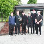 Varsity Golf Wins First Ever Indiana Crossroads Conference Championship