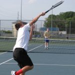 Varsity Tennis Finishes Third At Weekend Tournament