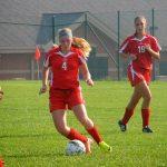 Girls' Varsity Soccer Rolls Scecina