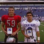 Collin Sweeney Honored At Lucas Oil Stadium For Academic Success