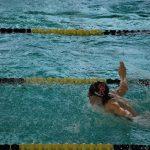 Swim Teams Finish First/Drew Groth Breaks School Record