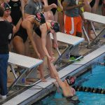 Swimmer Compete At Warrior Invitational/Bacon Sets New Pool Record