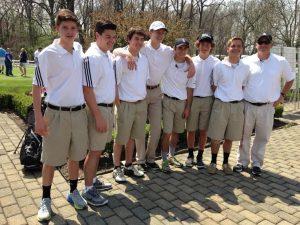 2015 Varsity Boys Golf Season