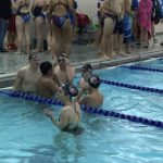 Swim Team Competes vs Lawrence Central and Chatard